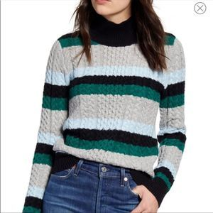 1901 cable knit sweater size XS
